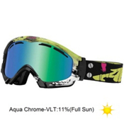 Arnette Series 3 Ski Goggles 2013, Frankenstein-Aqua Chrome, medium