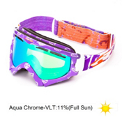 Arnette Series 3 Ski Goggles 2013, Del The Funky Homosapien-Aqua, medium