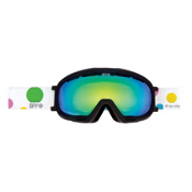 Spy Bias Les Ettes Womens Goggles, Les Ettes-Bronze with green Spectra, medium