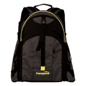 Transpack Sidekick Pro Ski Boot Bag, Black-Yellow Electric, medium
