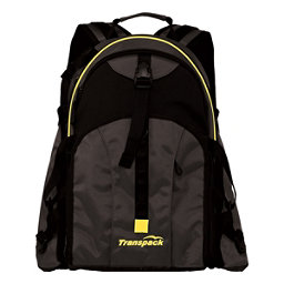 Transpack Sidekick Pro Ski Boot Bag, Black-Yellow Electric, 256