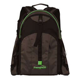 Transpack Sidekick Pro Ski Boot Bag, Black-Lime Electric, 256