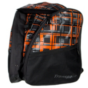Transpack XT1 Ski Boot Bag, Orange-Gray Ultra Plaid, medium