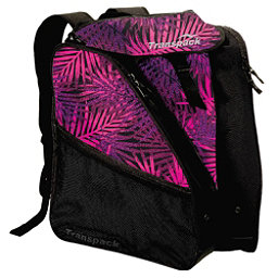 Transpack XTW Ski Boot Bag 2017, Pink-Purple-Black Palm, 256