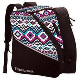 Transpack Edge Junior Ski Boot Bag 2018, White-Pink-Aqua Aztec, 256