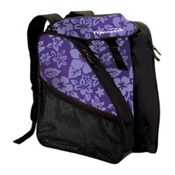 Transpack XTW Ski Boot Bag 2018, Purple Floral, medium