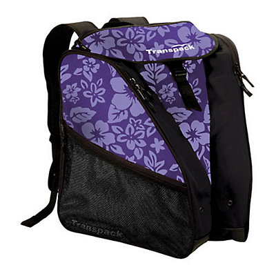 Transpack XTW Ski Boot Bag, Purple Floral, viewer