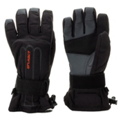 Seirus Skeleton Wrist Protection Gloves, Black, medium