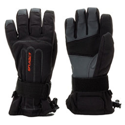Seirus Skeleton Wrist Protection Gloves, Black, 256