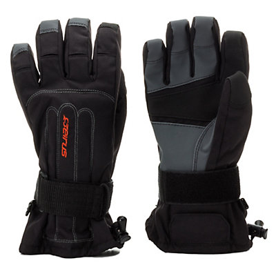 Seirus Skeleton Wrist Protection Gloves, Black, viewer