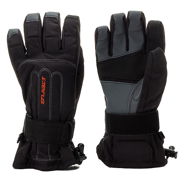 Seirus Skeleton Wrist Protection Gloves, Black, 600