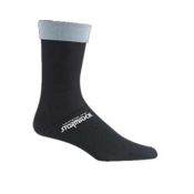 Seirus Hyperlite Stormsocks Ski Socks, Black, medium