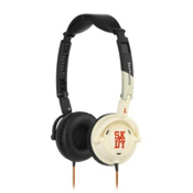 Skullcandy Lowrider On-Ear Headphones, Bone-Black, medium