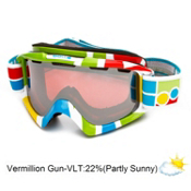 Bolle Nova Goggles 2013, Logo Blocks-Vermillon Gun, medium