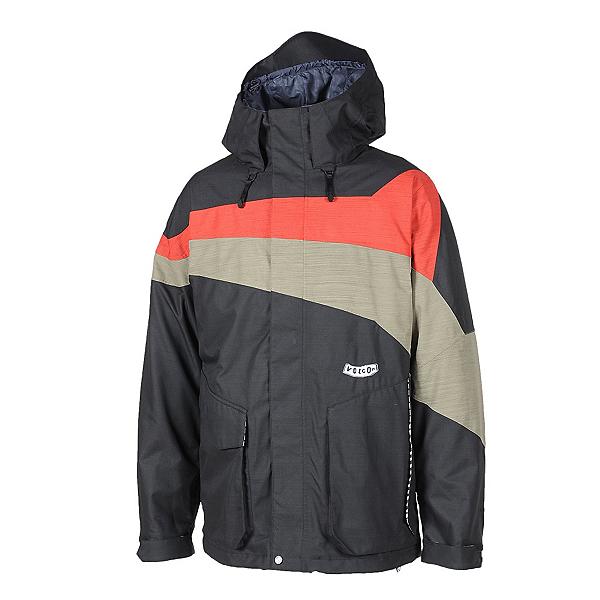 Volcom Accelerate Mens Shell Snowboard Jacket, , 600