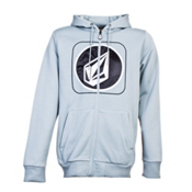 Volcom Die Cut Stone Hydro Fleece Hoodie, Silver, medium