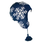 Dale Of Norway Snowflake Ski Womens Hat, Indigo-Cream, medium