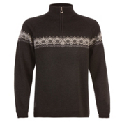 Dale Of Norway Calgary Masculine Mens Sweater, Charcoal-Schiefer-Off White, medium