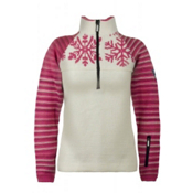 Dale Of Norway Isfjorden Womens Sweater, Off White-Allium-Magenta-Berry Cream, medium