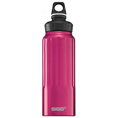 SIGG+ Wide Mouth Red 1.0L Water Bottle, , large