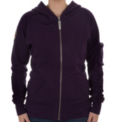 Neve Designs Tori Vintage Womens Hoodie, Grape, medium