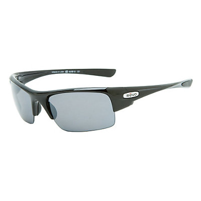 Revo Chasm Sunglasses, Polished Black-Graphite, large