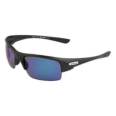 Revo Chasm Sunglasses, Matte Black-Cobalt, large