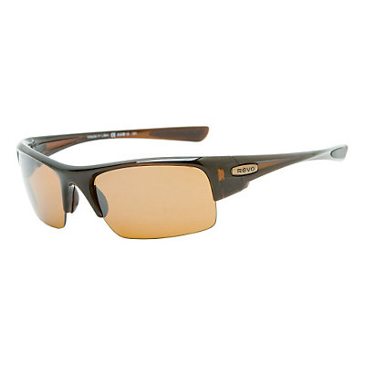 Revo Chasm Sunglasses, Polished Rootbeer-Bronze, large