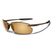 Revo Cut Bank Sunglasses, Brown, medium