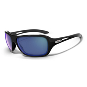 Revo Highside Sunglasses, Polished Black-Cobalt, medium