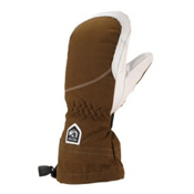 Hestra Heli Womens Mittens, Brown-Off White, medium