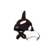 Mental Orca Kids Hat, Black, medium