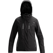Orage Grace Womens Insulated Ski Jacket, Black, medium