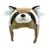 Crazee Heads Benny The Bandit Raccoon Helmet Cover, , medium