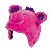 Crazee Heads Poppi The Pig with Squeaker Helmet Cover, , medium