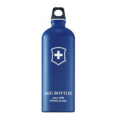SIGG+ Swiss Cross Blue Touch Water Bottle, , large