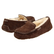 UGG Australia Ansley Womens Slippers, Chocolate, medium