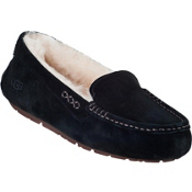 UGG Australia Ansley Womens Slippers, Black, medium