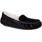 UGG Ansley Womens Slippers, Black, medium