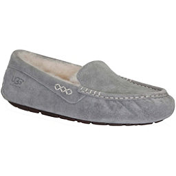 UGG Ansley Womens Slippers, Light Grey, 256