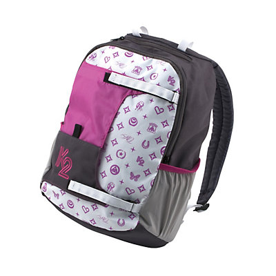 K2 Varsity Pack Backpack, Black-Pink, large