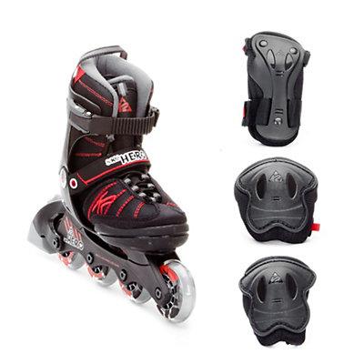 K2 SK8 Hero Adjustable with 3 Pad Pack Kids Inline Skates, , viewer