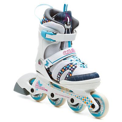 K2 Charm Pro Adjustable Girls Inline Skates, , large