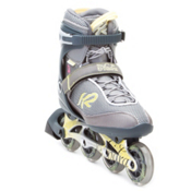 K2 Andra Womens Inline Skates, Silver-Yellow, medium