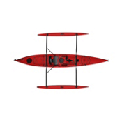 Hobie Mirage Adventure Island Kayak 2013, Red Hibiscus, medium