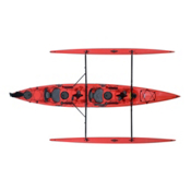 Hobie Mirage Tandem Island Kayak 2013, Red Hibiscus, medium