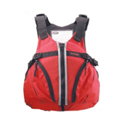Stohlquist Trekker Adult Kayak Life Jacket 2017, Fireball Red, medium