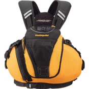 Stohlquist Rocker Adult Kayak Life Jacket 2014, Mango, medium