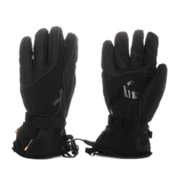 KJUS J Womens Womens Gloves, Black, medium
