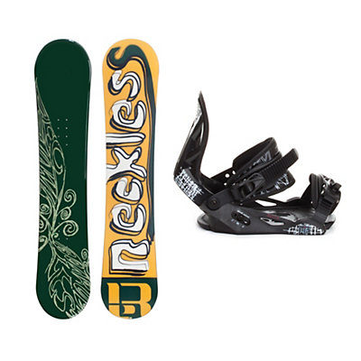 Reckless Earth Helix Snowboard and Binding Package, , large